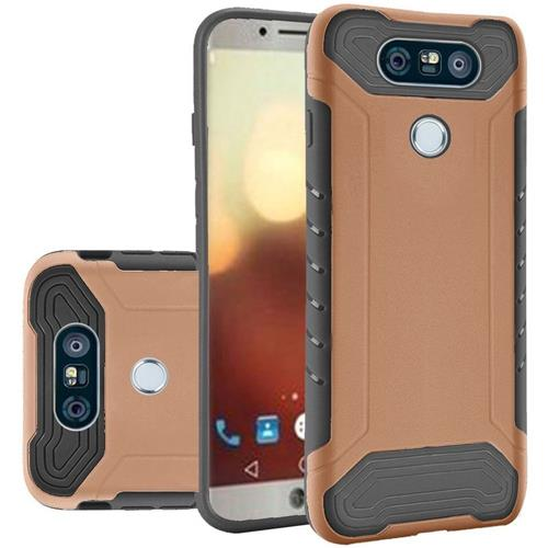 Insten Hard TPU Cover Case For LG G6, Rose Gold/Black