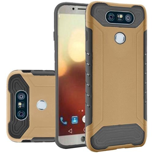 Insten Hard TPU Cover Case For LG G6, Gold/Black