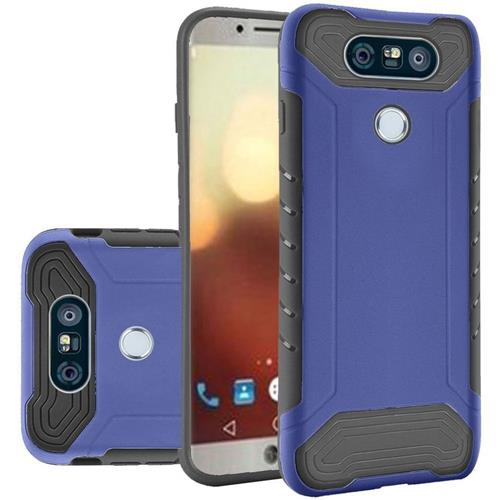 Insten Hard TPU Case For LG G6, Blue/Black