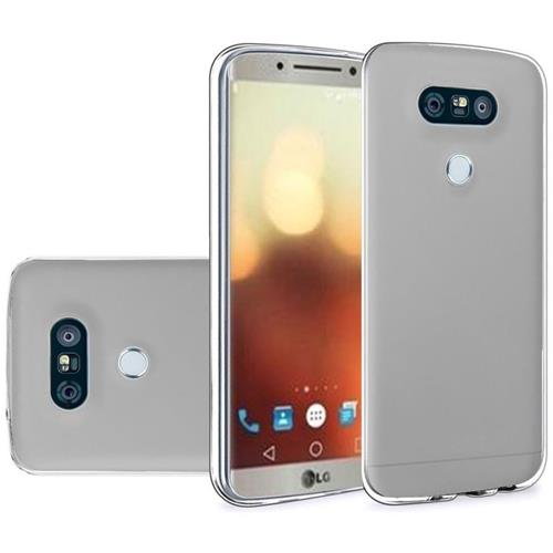 Insten Frosted Rubber Cover Case For LG G6, Clear