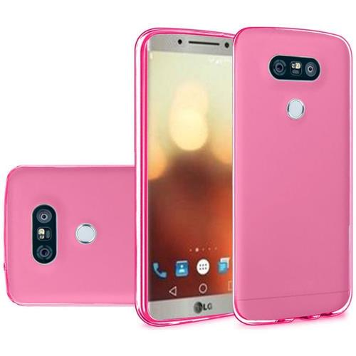 Insten Frosted Gel Case For LG G6, Hot Pink