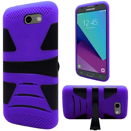 Insten Hard Case For Samsung Galaxy Amp Prime 2/Express Prime 2/J3 (2017)/J3 Eclipse, Purple