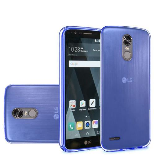 Insten Frosted TPU Case For LG Stylo 3/Stylo 3 Plus, Blue