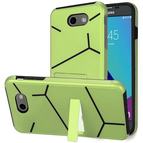 Insten Hard Case For Samsung Galaxy Amp Prime 2/Express Prime 2/J3 (2017)/J3 Eclipse, Green