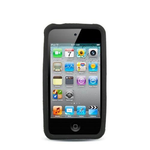 Insten Rubber Case For Apple iPhone 4/4S, Black