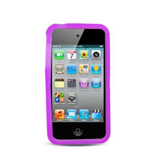 Insten Soft Rubber Case For Apple iPhone 4/4S, Purple