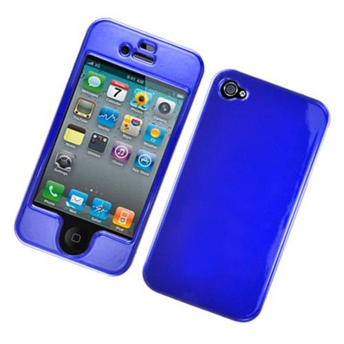 Insten Hard Case For Apple iPhone 4/4S, Blue
