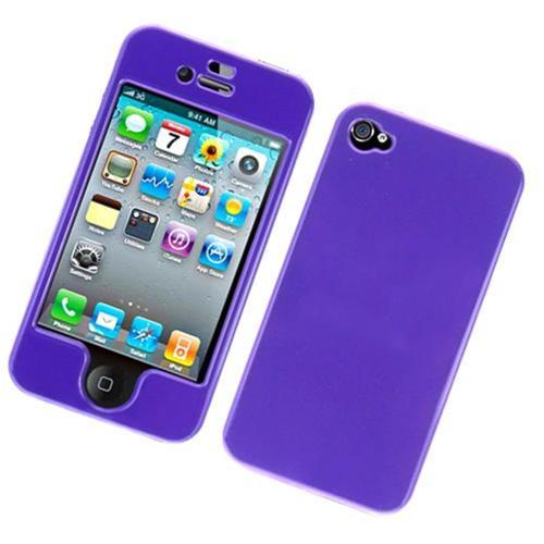 Insten Hard Case For Apple iPhone 4/4S, Purple