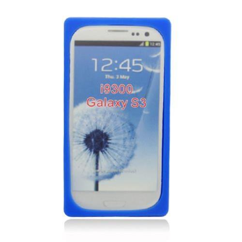 Insten Cassette Tape Skin Rubber Cover Case For Samsung Galaxy S3, Blue