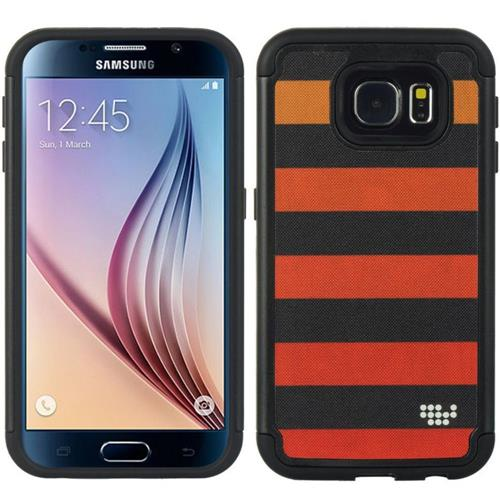 Insten Hard Hybrid TPU Cover Case For Samsung Galaxy S6, Red/Black