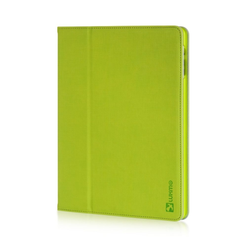 Insten Book-Style Leather Fabric Case w/stand For Apple iPad 2/3, Green