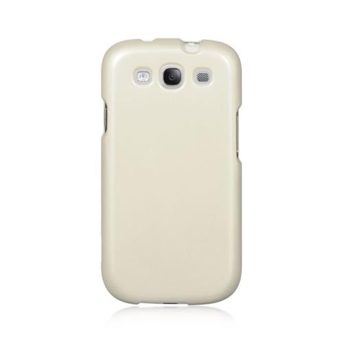 Insten Hard Rubberized Case For Samsung Galaxy S3, Clear