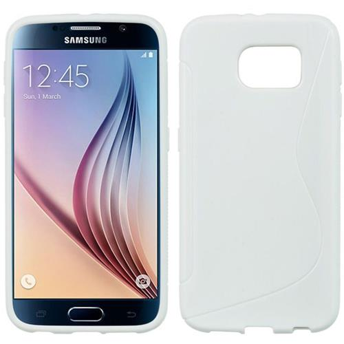 Insten Silicone Rubber Cover Case For Samsung Galaxy S6, White