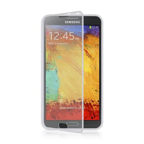 Insten Fitted Hard Shell Case for Samsung Galaxy Note 3 - White
