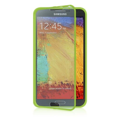 Insten Fitted Hard Shell Case for Samsung Galaxy Note 3 - Green