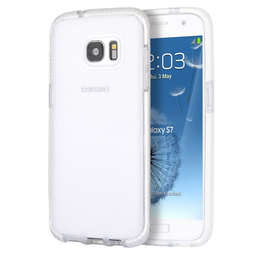 Insten Dots Gel Cover Case For Samsung Galaxy S7, White