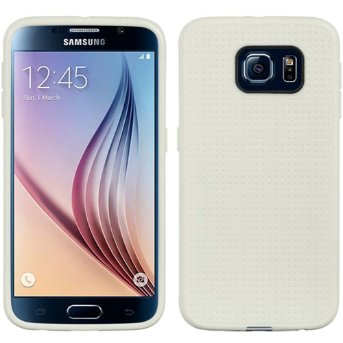 Insten Dots Gel Cover Case For Samsung Galaxy S6, White