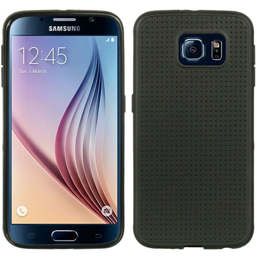 Insten Dots Gel Cover Case For Samsung Galaxy S6, Black
