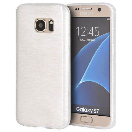 Insten Gel Cover Case For Samsung Galaxy S7, White