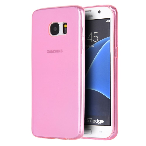Insten Rubber Cover Case For Samsung Galaxy S7 Edge, Pink