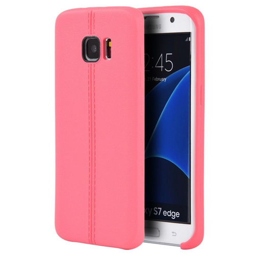 Insten Gel Case For Samsung Galaxy S7 Edge, Hot Pink