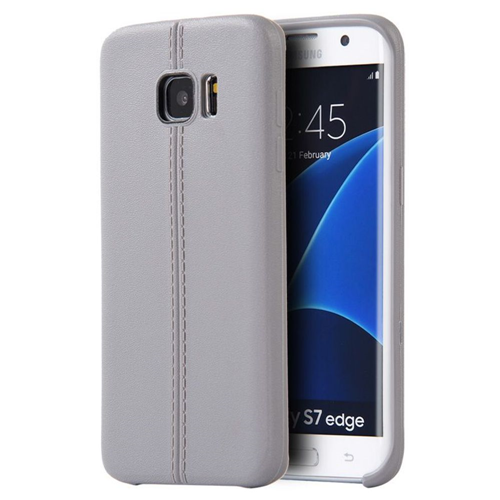 Insten TPU Case For Samsung Galaxy S7 Edge, Gray