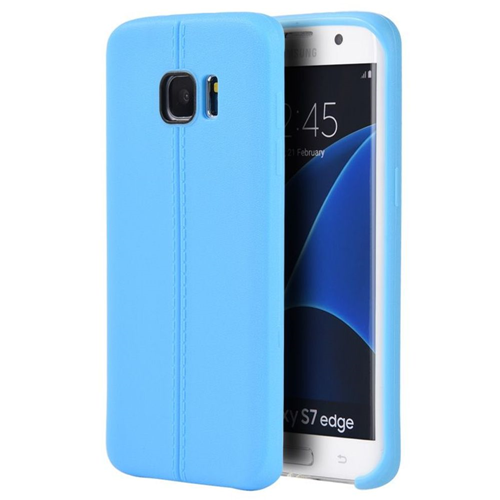 Insten TPU Cover Case For Samsung Galaxy S7 Edge, Blue