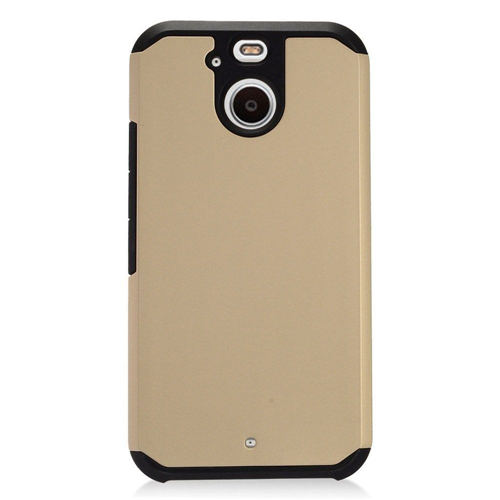 Insten Hard Hybrid TPU Case For HTC 10 EVO / Bolt, Gold/Black