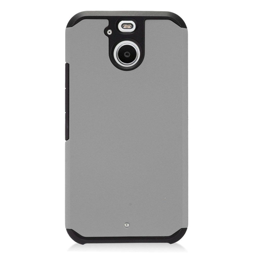 Insten Hard Hybrid TPU Case For HTC 10 EVO / Bolt, Gray/Black