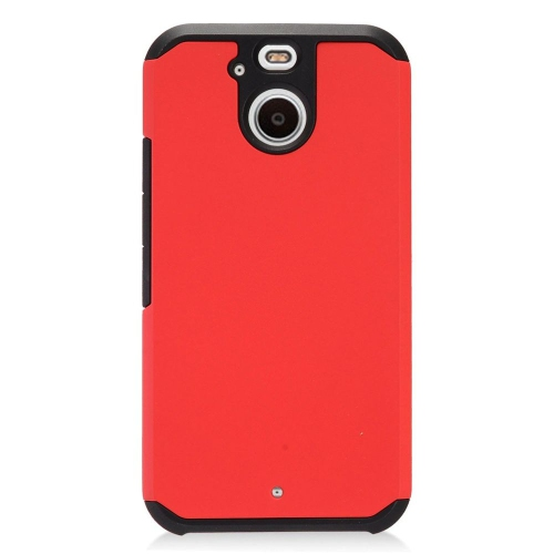 Insten Hard Hybrid TPU Case For HTC 10 EVO / Bolt, Red/Black