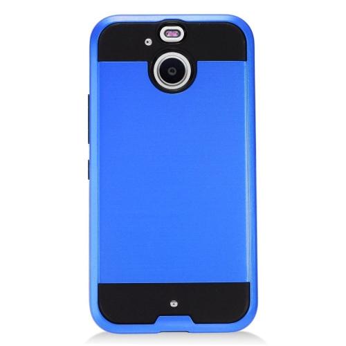 Insten Hard Dual Layer TPU Cover Case For HTC 10 EVO / Bolt, Blue/Black