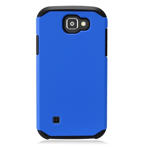 Insten Hard Dual Layer TPU Case For LG K3 (2016), Blue/Black