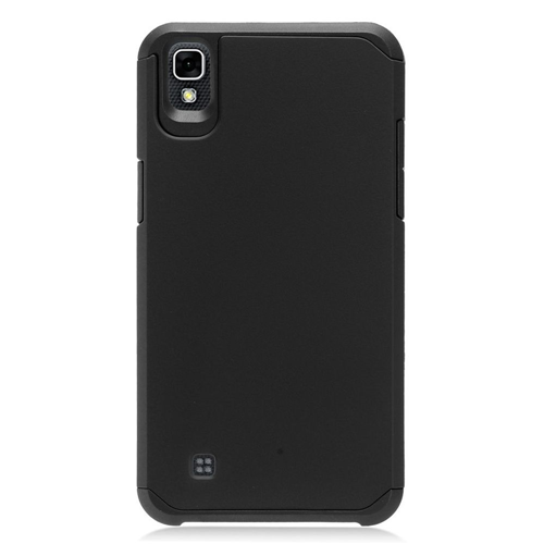 Insten Hard Dual Layer TPU Case For LG X Power, Black