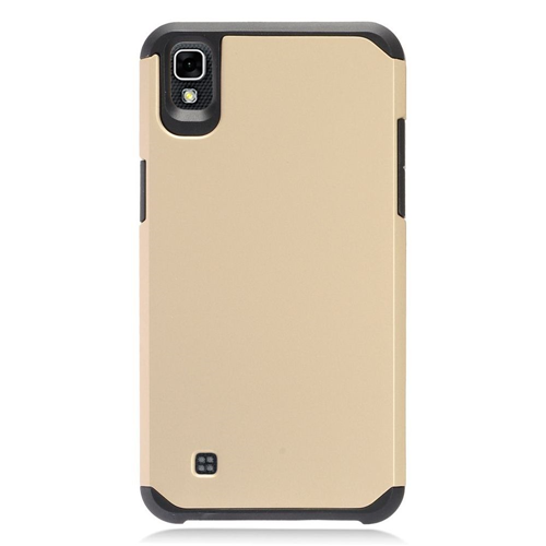 Insten Fitted Soft Shell Case - Gold;Black