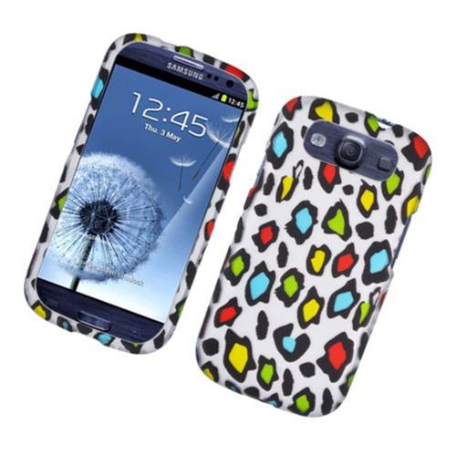 Insten Leopard Hard Case For Samsung Galaxy S3, Multi-Color