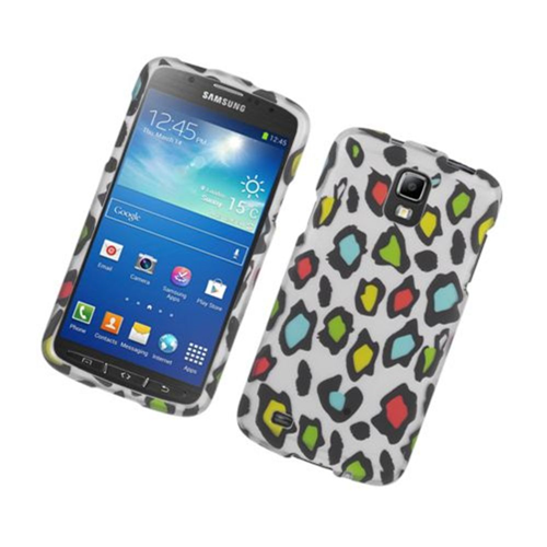 Insten Fitted Hard Shell Case for Samsung Galaxy S4 Act4e - Multicolor