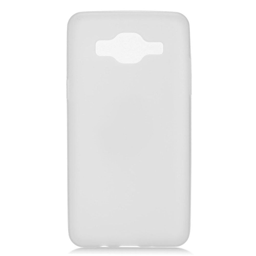 Insten Frosted Gel Cover Case For Samsung Galaxy On5, White
