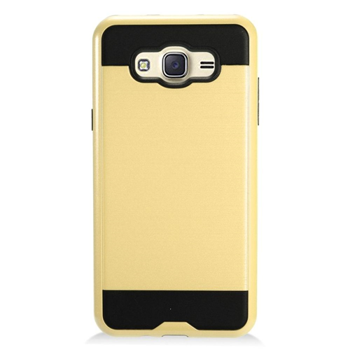 Insten Fitted Hard Shell Case for Samsung Galaxy J7 - Chrome;Gold;Black