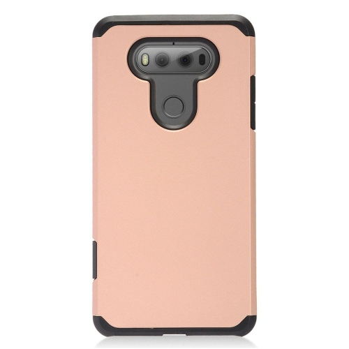 Insten Hard Dual Layer TPU Cover Case For LG V20, Rose Gold/Black