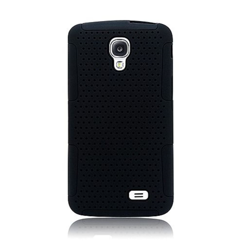 Insten Mesh Hard Dual Layer TPU Case For LG F70 D315, Black