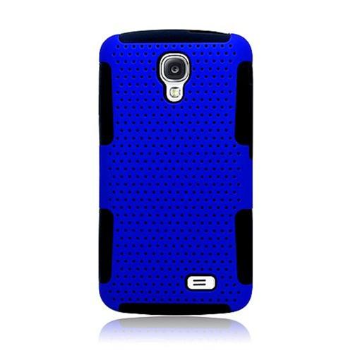 Insten Mesh Hard Dual Layer TPU Case For LG F70 D315, Blue/Black