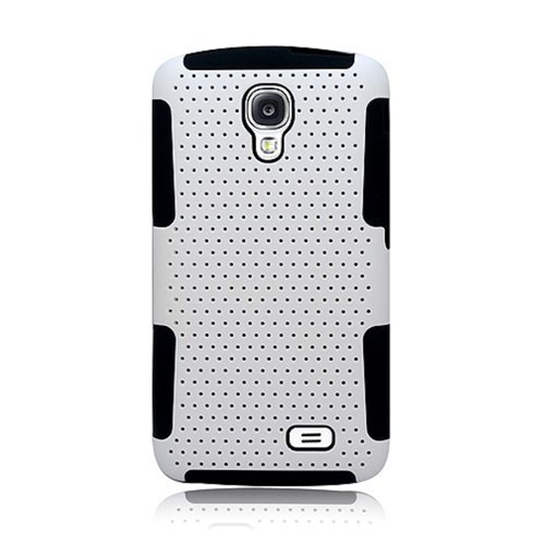 Insten Mesh Hard Hybrid TPU Cover Case For LG F70 D315, White/Black