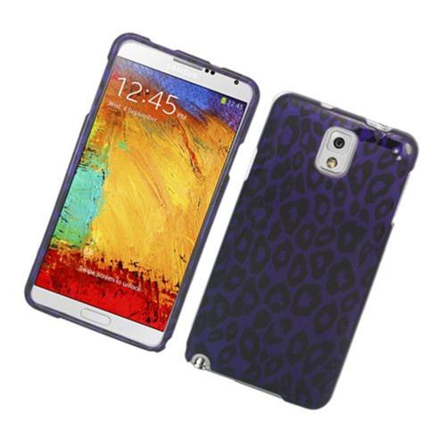 Insten Leopard Hard Case For Samsung Galaxy Note 3, Purple