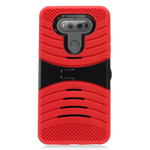 Insten Fitted Soft Shell Case for LG V20 - Black;Red