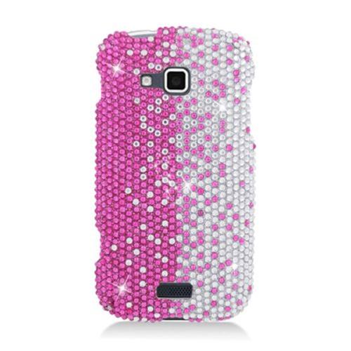 Insten Hard Rhinestone Case For Samsung ATIV Odyssey, Pink/Silver