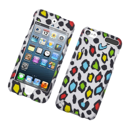 Insten Leopard Hard Cover Case For Apple iPod Touch 5th Gen, Multi-Color
