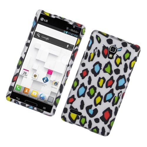 Insten Leopard Hard Case For LG Optimus L9 P769, Multi-Color