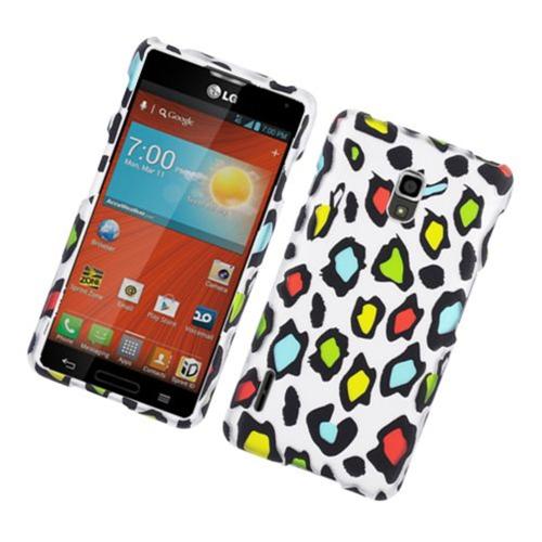 Insten Leopard Hard Case For LG Optimus F7 LG870, Multi-Color