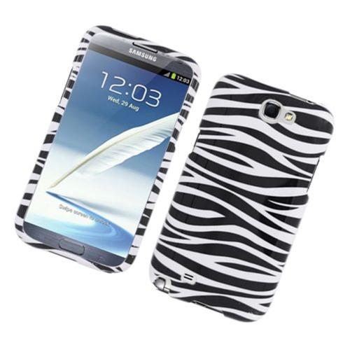 Insten Zebra Hard Case For Samsung Galaxy Note II, Black/White