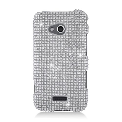 Insten Hard 3D Diamond Case For Samsung Galaxy Victory 4G LTE, Silver
